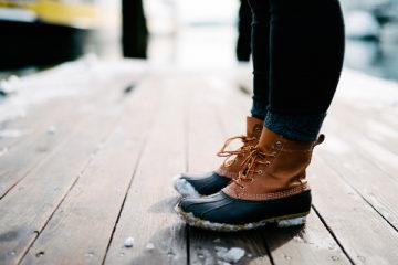 Des pieds au chaud
